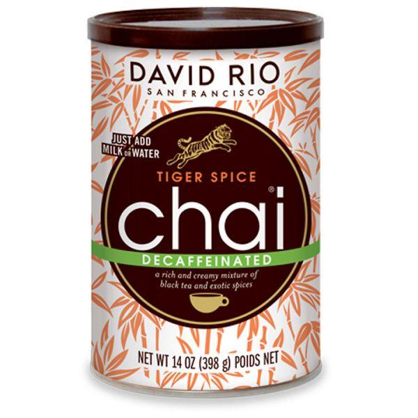 David Rio Tiger Spice Chai Decaffeinated