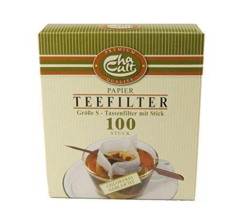Teefilter mit Filter Stick Schachtel à 100 St.